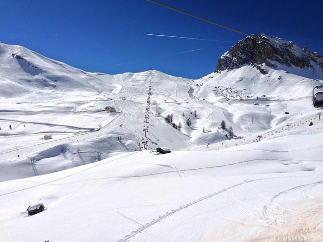 Arabba lyžování 2018