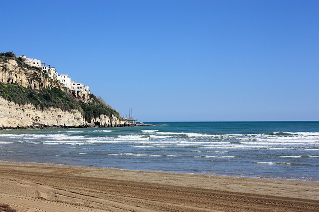 Gargáno pláž