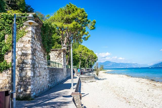Lago di Garda - pláž