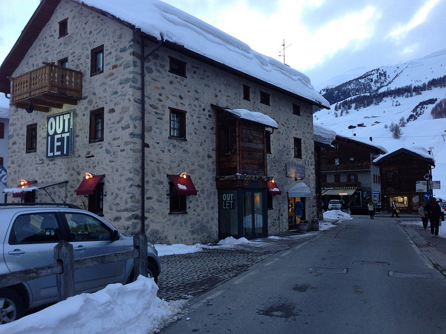 Livigno outlet
