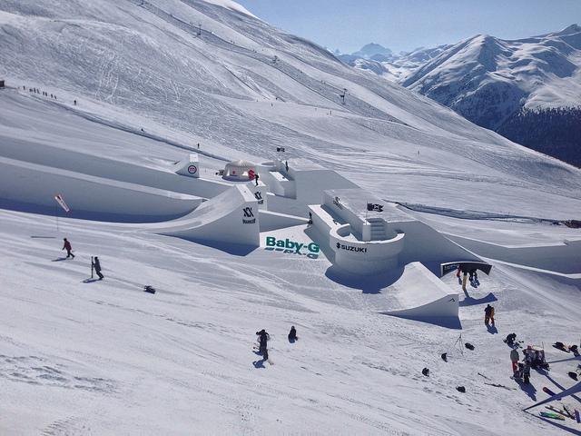 Livigno ski park